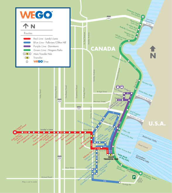 Four Points by Sheraton Niagara Falls Fallsview Hotel - Citywide Shuttle System (WEGO)